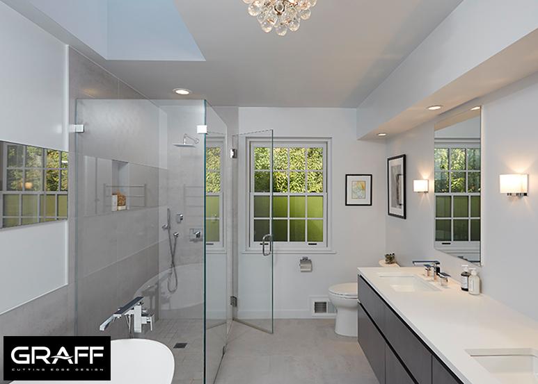 LBR HOME WESTCHESTER BATH DESIGN FEATURING GRAFF