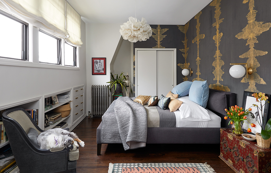MASTER BEDROOM INTERIOR DESIGN BY LBR | HOME IN BROOKLYN