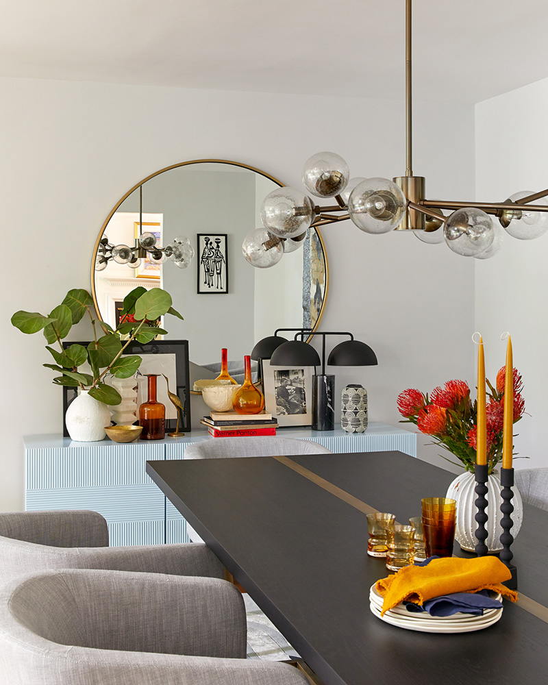 Laurie Blumenfeld Design Custom-Contemporary-Dining Room Details Renovation