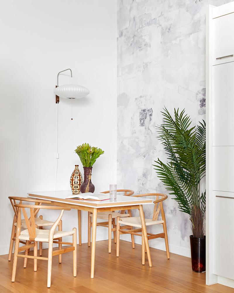 Laurie Blumenfeld Design  LIC Loft Design Dining Area