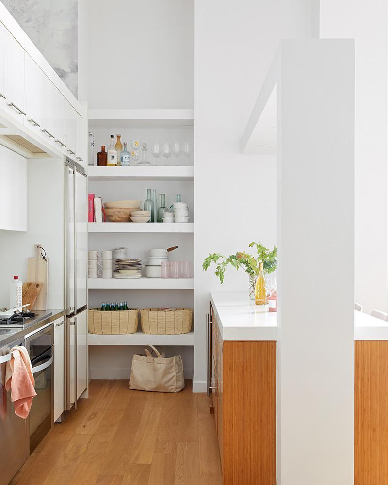Laurie Blumenfeld Design LIC Loft Custom Kitchen Design