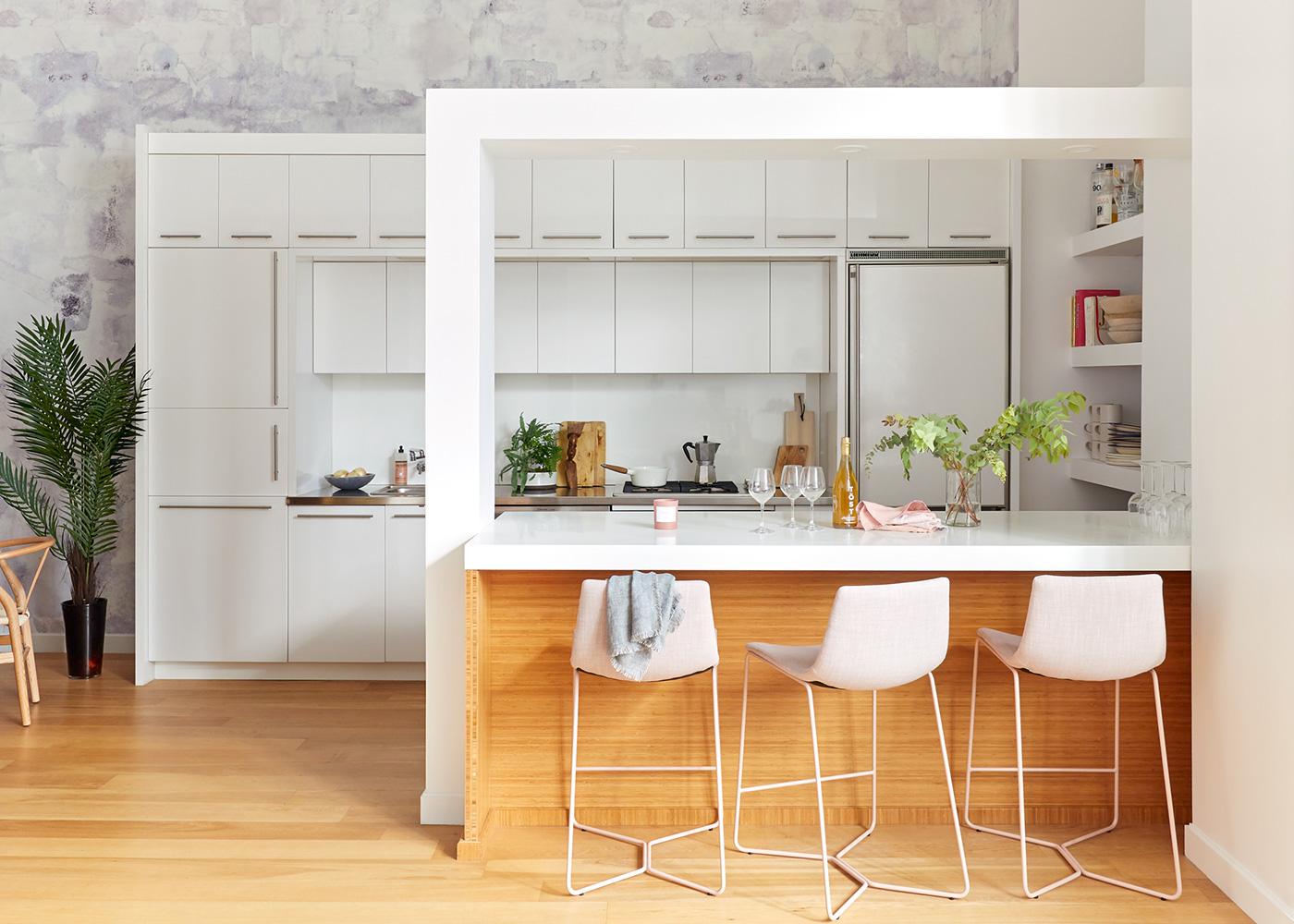 Laurie Blumenfeld Design LIC Loft Open Kitchen Design