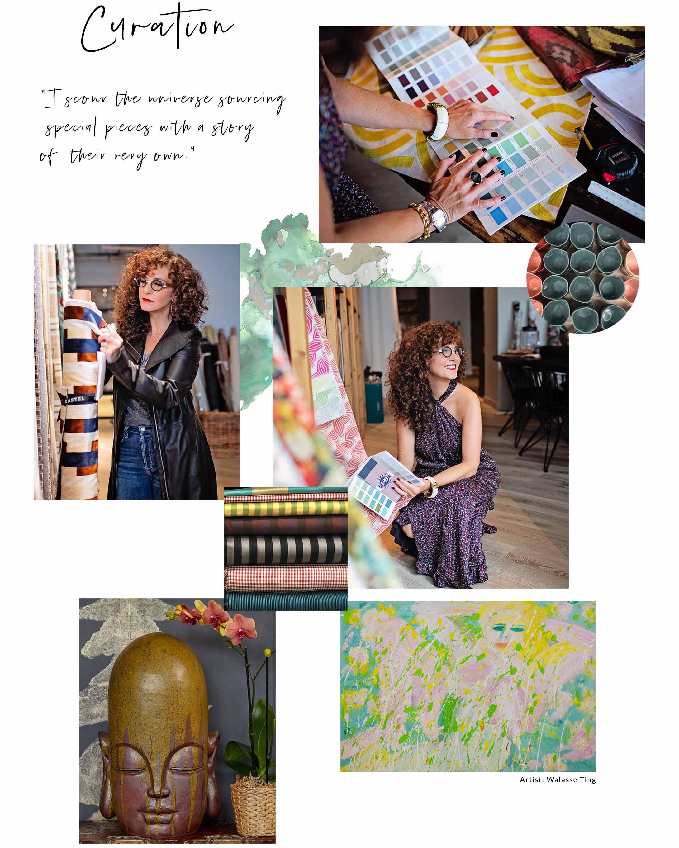 Laurie Blumenfeld Interior Design Curation